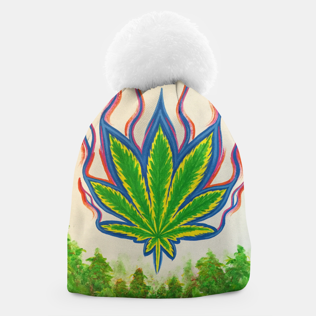 Image of Ganja Fields Beanie - Live Heroes