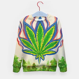 Miniature de image de Ganja Fields Kid's sweater, Live Heroes