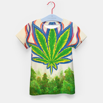 Thumbnail image of Ganja Fields Kid's t-shirt, Live Heroes