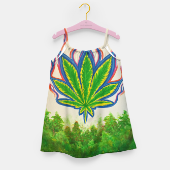 Miniature de image de Ganja Fields Girl's dress, Live Heroes