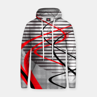 Miniatur winter abstract digital painting Hoodie, Live Heroes