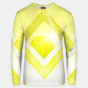 Miniatur Yellow Diamond Unisex sweater, Live Heroes