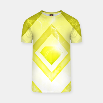 Miniatur Yellow Diamond T-shirt, Live Heroes