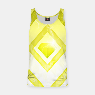 Miniatur Yellow Diamond Tank Top, Live Heroes