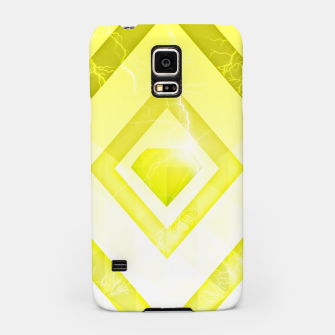 Miniatur Yellow Diamond Samsung Case, Live Heroes