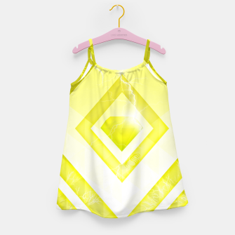 Miniatur Yellow Diamond Girl's dress, Live Heroes