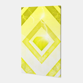 Miniatur Yellow Diamond Canvas, Live Heroes