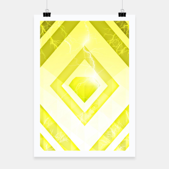 Miniatur Yellow Diamond Poster, Live Heroes