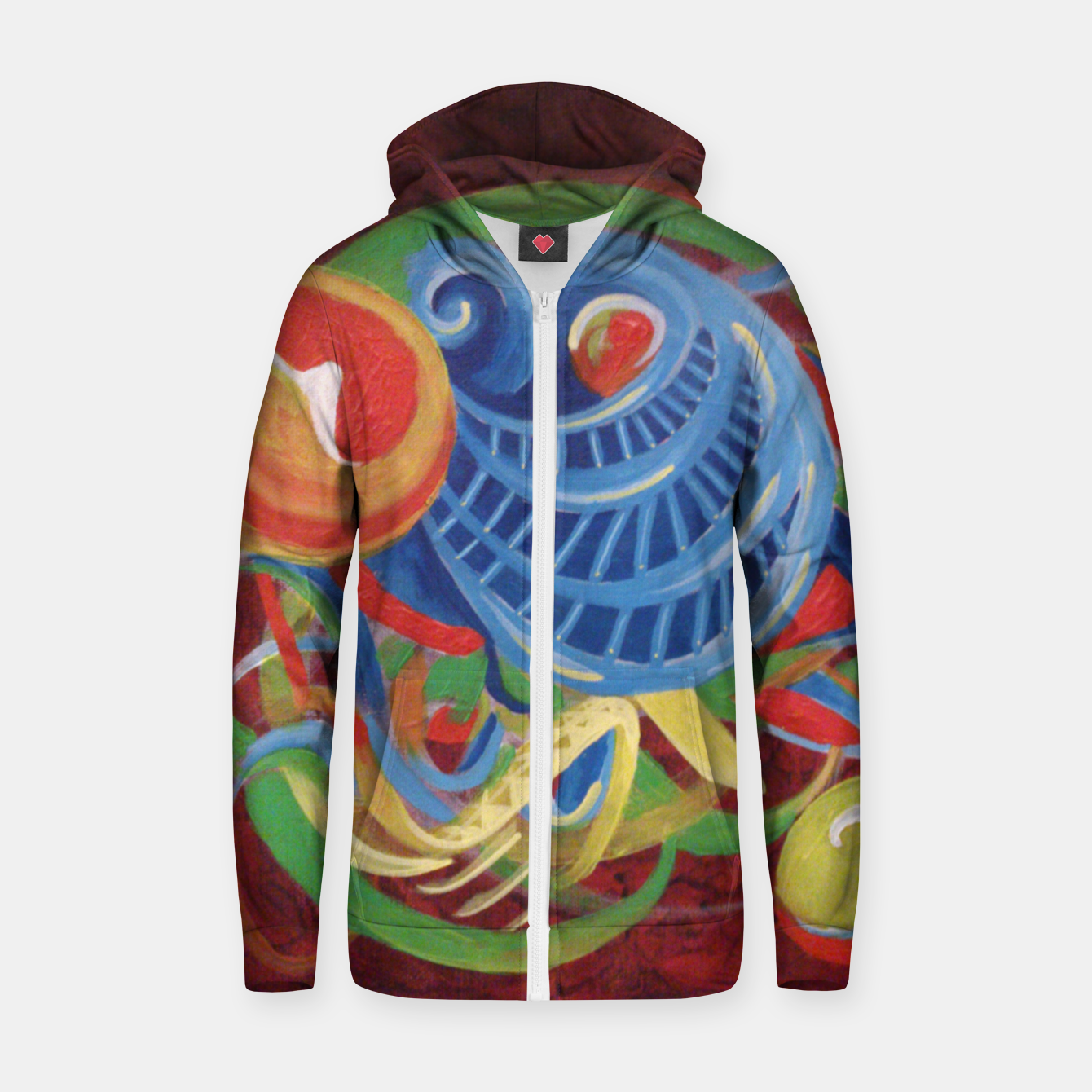 Image of Randoms Zip up hoodie - Live Heroes