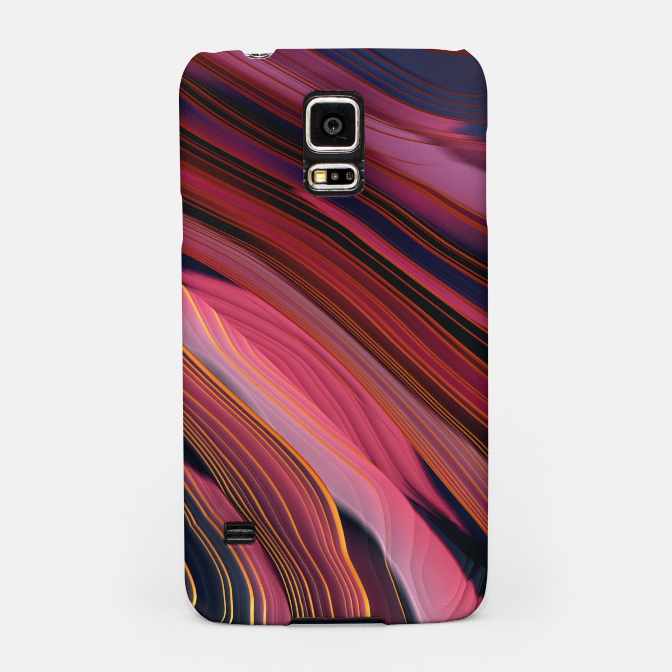 Image of Plum Abstract Samsung Case - Live Heroes
