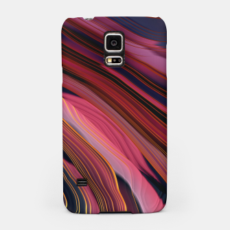Plum Abstract Samsung Case thumbnail image