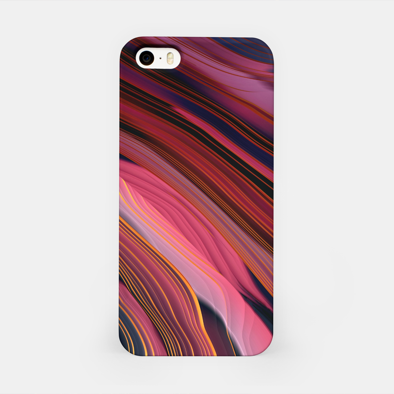 Image of Plum Abstract iPhone Case - Live Heroes