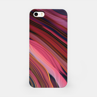 Plum Abstract iPhone Case thumbnail image