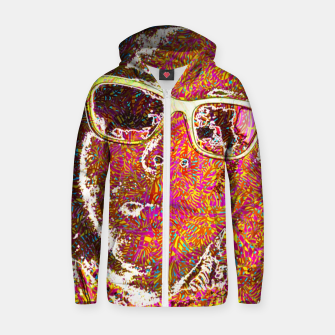Thumbnail image of Megaloop Zip up hoodie, Live Heroes