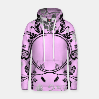 Thumbnail image of Pink pattern hoodie Emily Nayhree Dawson Art, Live Heroes