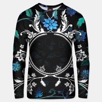 Thumbnail image of Black Pattern Sweater Emily Nayhree Dawson Art, Live Heroes