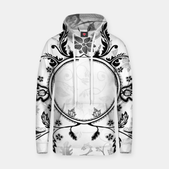 Thumbnail image of White Black Grey Hoodie Emily Nayhree Dawson Art, Live Heroes