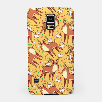 Thumbnail image of Reindeers and Kittens Samsung Case, Live Heroes