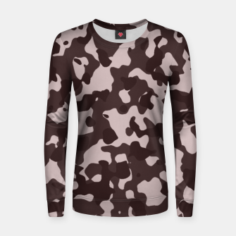 Thumbnail image of Camouflage Marron Pull femme , Live Heroes