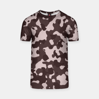 Thumbnail image of Camouflage Marron T-shirt, Live Heroes