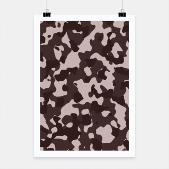 Thumbnail image of Camouflage Marron Affiche, Live Heroes