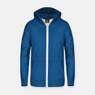 Imagen en miniatura de Classic Blue Color of the Year 2020 Zip up hoodie, Live Heroes