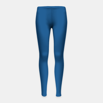 Imagen en miniatura de Classic Blue Color of the Year 2020 Girl's leggings, Live Heroes