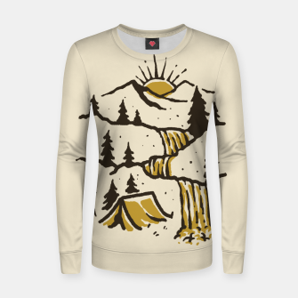Thumbnail image of Hidden Paradise Women sweater, Live Heroes