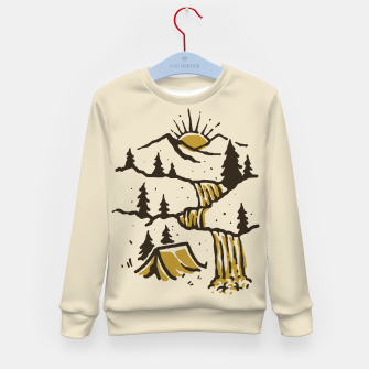 Thumbnail image of Hidden Paradise Kid's sweater, Live Heroes