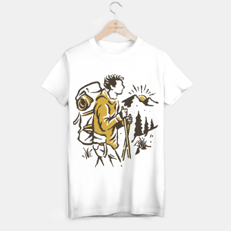 Miniatur Hiker T-shirt regular, Live Heroes