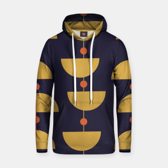 Thumbnail image of Mid century modern abstract pattern Hoodie, Live Heroes