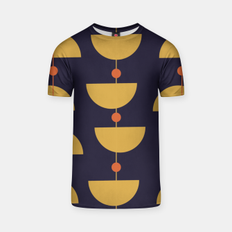 Thumbnail image of Mid century modern abstract pattern T-shirt, Live Heroes