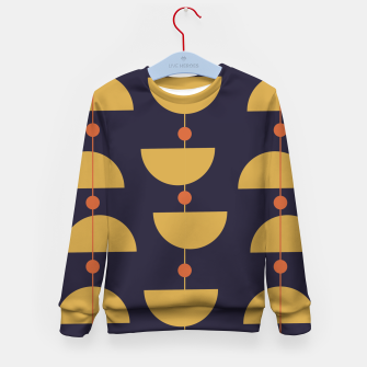 Thumbnail image of Mid century modern abstract pattern Kid's sweater, Live Heroes
