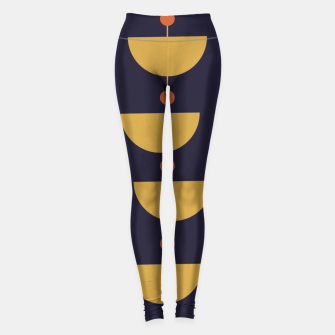 Thumbnail image of Mid century modern abstract pattern Leggings, Live Heroes