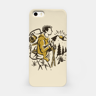 Miniatur Hiker iPhone Case, Live Heroes