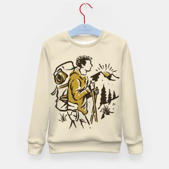 Miniatur Hiker Kid's sweater, Live Heroes