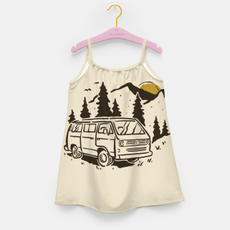 Miniatur Wanderlust Girl's dress, Live Heroes