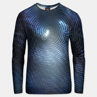 Miniatur Mat Braid CLR Abstract Fractal Art Unisex sweater, Live Heroes