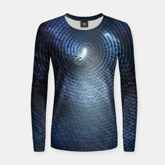 Miniatur Mat Braid CLR Abstract Fractal Art Women sweater, Live Heroes
