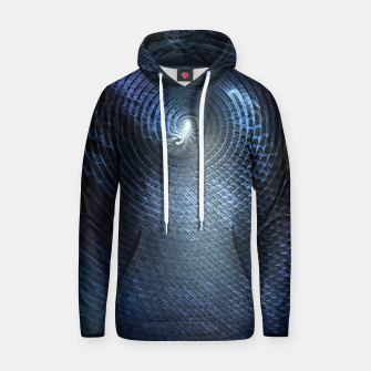 Miniatur Mat Braid CLR Abstract Fractal Art Hoodie, Live Heroes