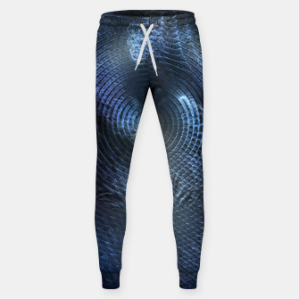 Miniatur Mat Braid CLR Abstract Fractal Art Sweatpants, Live Heroes