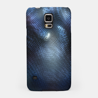 Miniatur Mat Braid CLR Abstract Fractal Art Samsung Case, Live Heroes