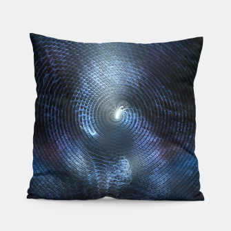 Miniatur Mat Braid CLR Abstract Fractal Art Pillow, Live Heroes