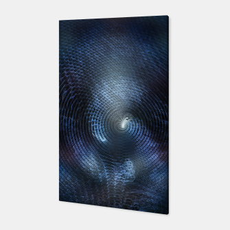 Miniatur Mat Braid CLR Abstract Fractal Art Canvas, Live Heroes