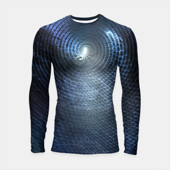 Miniatur Mat Braid CLR Abstract Fractal Art Longsleeve rashguard , Live Heroes