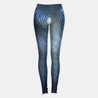 Thumbnail image of Mat Braid CLR Abstract Fractal Art Leggings, Live Heroes