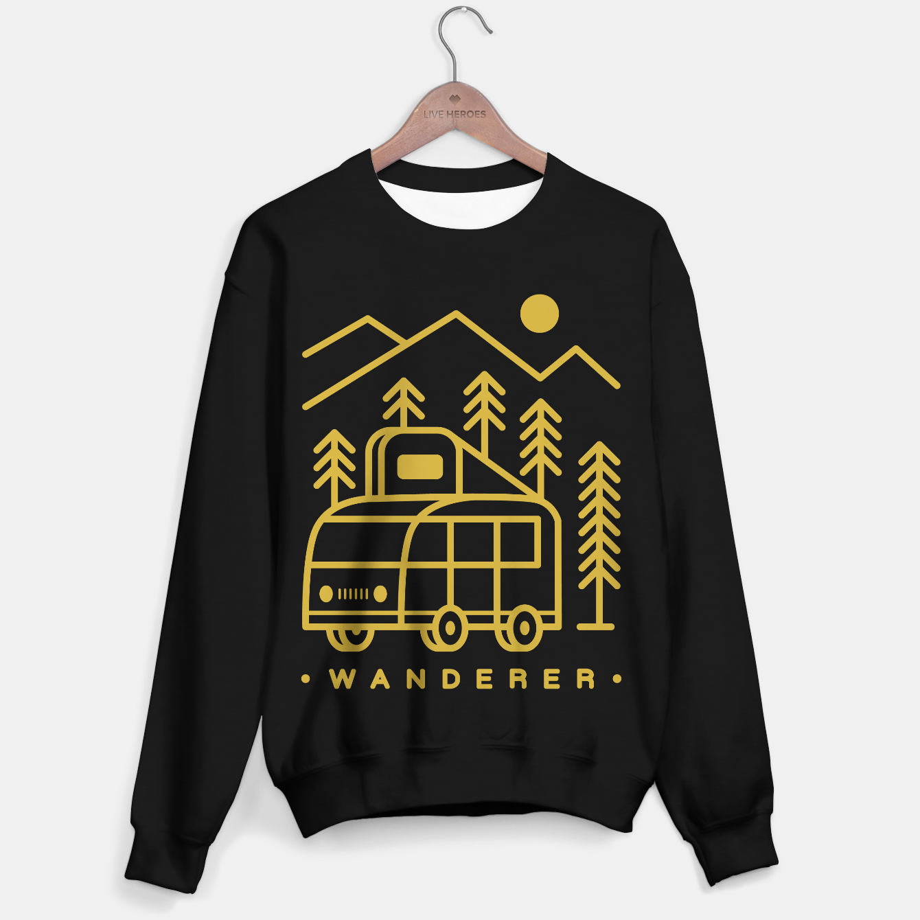Foto Wanderer Sweater regular - Live Heroes