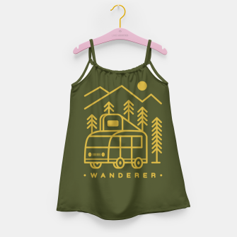 Wanderer Girl's dress Bild der Miniatur