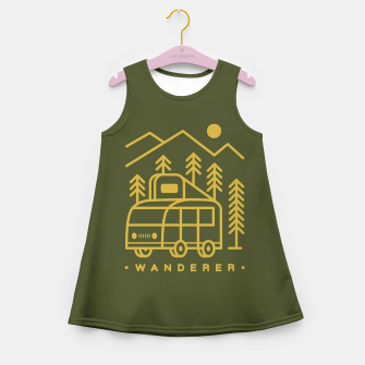 Wanderer Girl's summer dress Bild der Miniatur