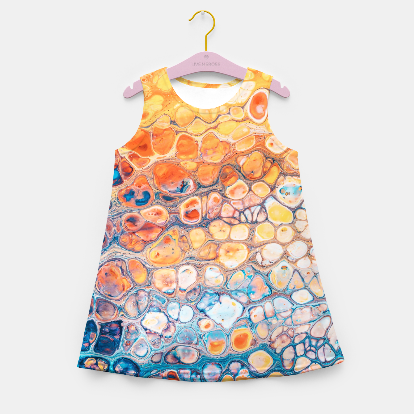 Image of The Bright Side Girl's summer dress - Live Heroes